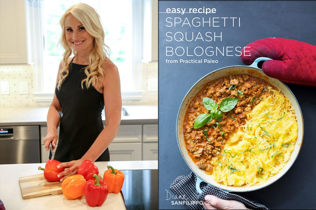 This is one of my favorite recipes and great to substitute spaghetti for spaghetti squash!