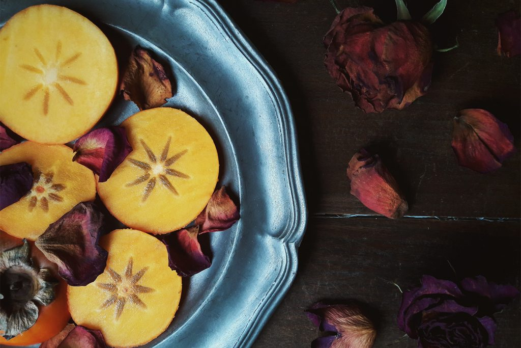 Spiced Persimmon Smoothie & Why Persimmons are a Nutrient Powerhouse